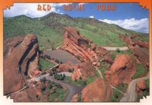 Red Rocks Park aerial view image