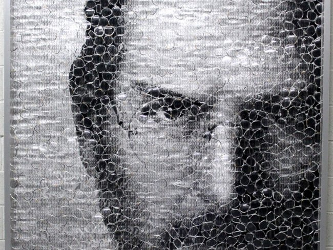 Steve Jobs Artwork by David Datuna, Mironova Gallery